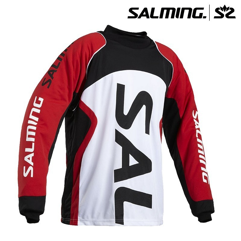 Salming Goalie Jersey Cross black/red/..