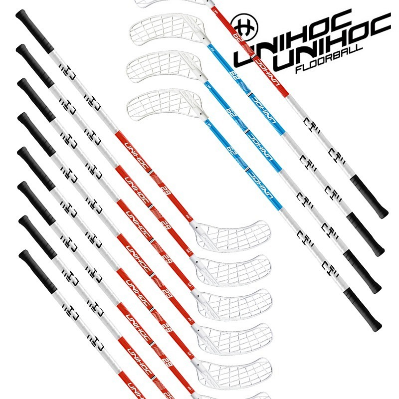 unihoc Profi-Stockset Player 26 (10 St..
