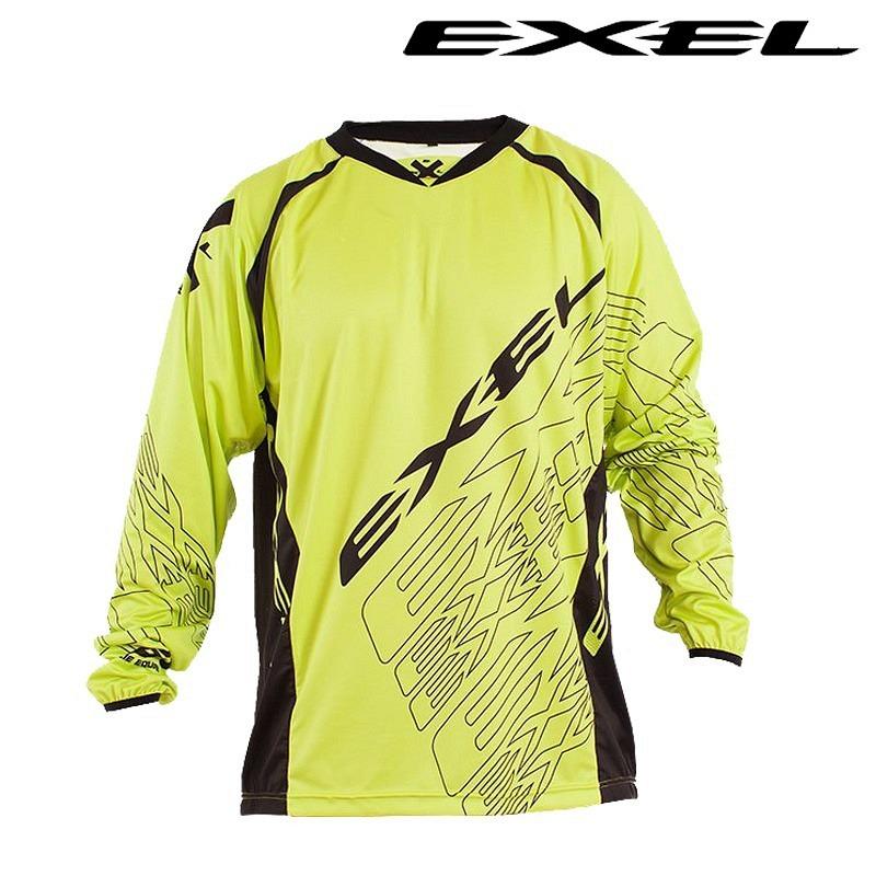 Exel G1 Goalie Shirt gelb