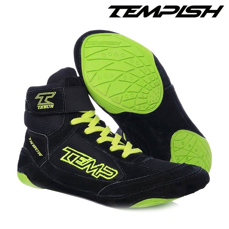 Tempish Goalie Schuh Tabur black/yellow