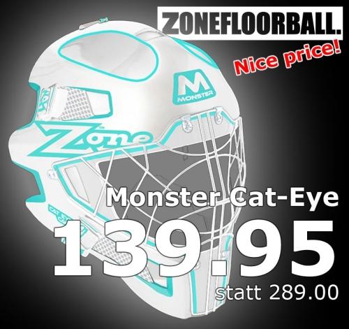 Zone Goaliemaske Monster Cat Eye Cage ..