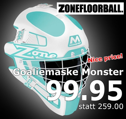 Zone Goaliemaske Monster Square Cage t..