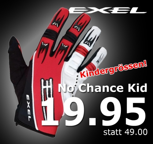Exel Goaliehandschuhe No Chance Kids
