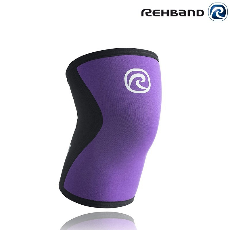 Rehband Knee Sleeve Women purple