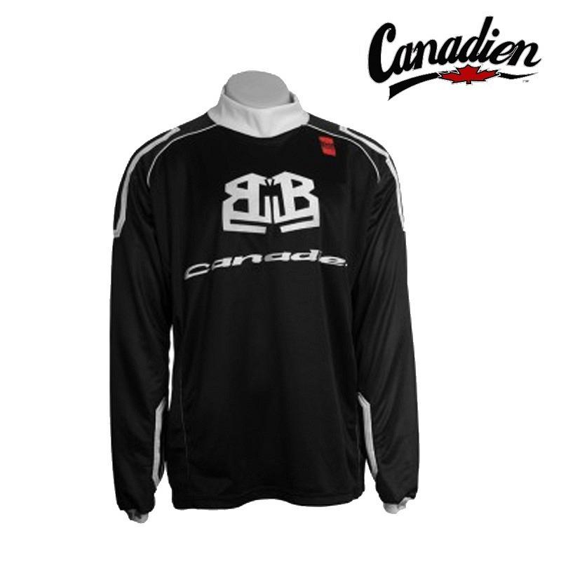 Canadien Goalie Jersey Baggy Bob schwarz