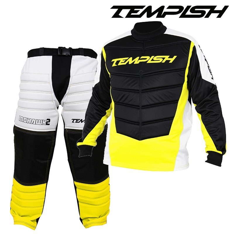 Tempish Goalieset Mohawk Senior lime