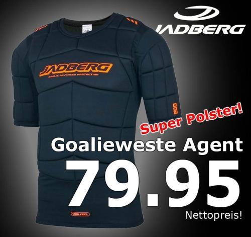 Jadberg Goalieweste Agent Kurzarm