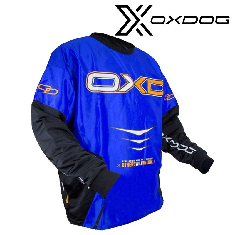 Oxgog Goalieshirt Gate blue