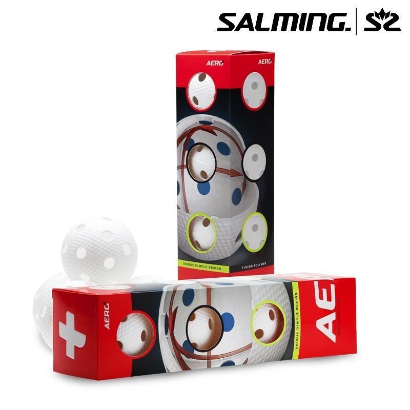 Salming Matchball Aero+ weiss (4er Pac..