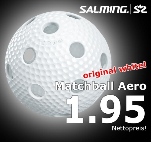 Salming Matchball Aero weiss