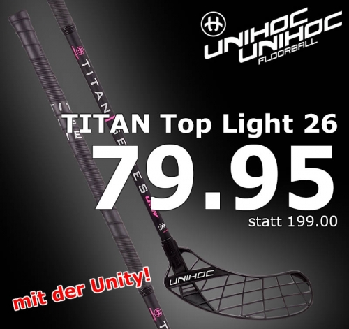 unihoc Unity TITAN Top Light 26