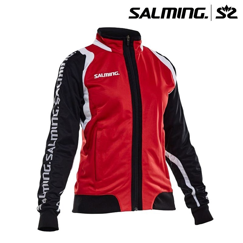 Salming WCT Trainingsjacke Women red