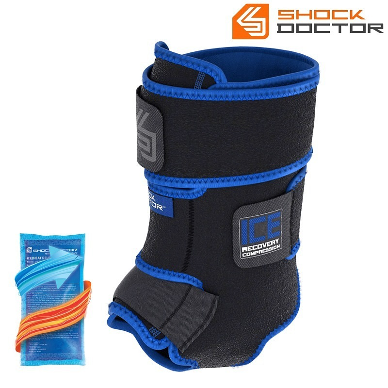 Shockdoctor Ankle Ice Recovery Compres..