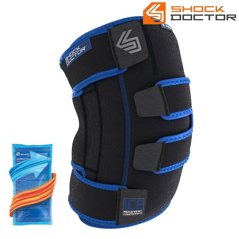 Shockdoctor Knee Ice Recovery Compress..