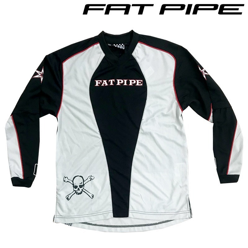 Fatpipe Goalieshirt Junior white/black