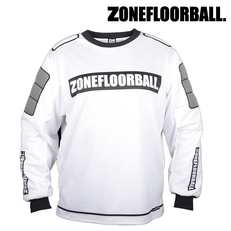 Zone Goaliepullover Monster weiss/schw..