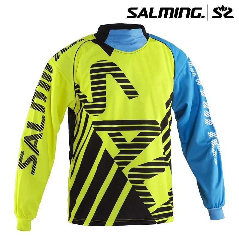 Salming Goalieshirt Travis yellow/ligh..