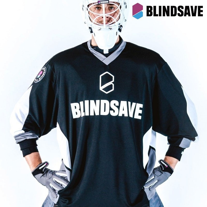 Blindsave Goalieshirt Klinsten white/red