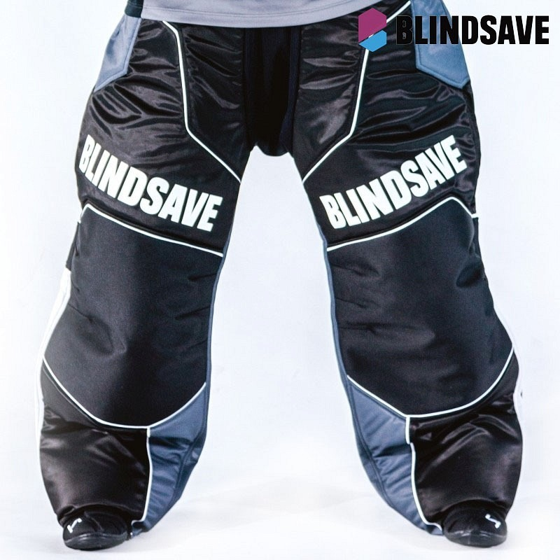 Blindsave Goaliehose Klinsten white/red