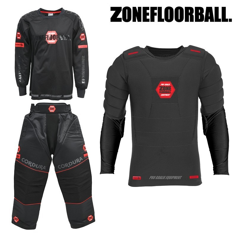 ZONE Goalieset PRO black/red