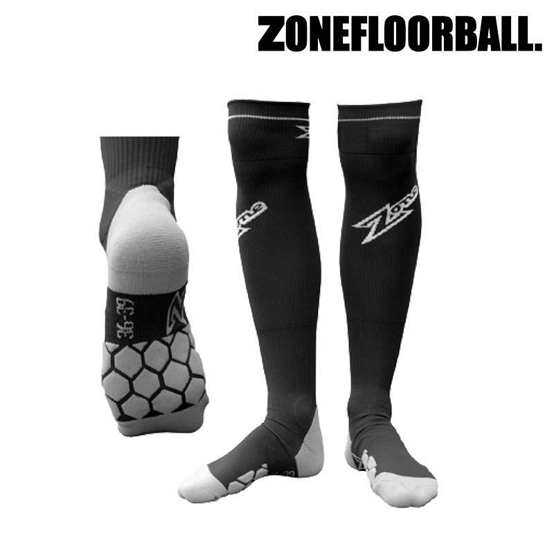 Zone Socken Super schwarz