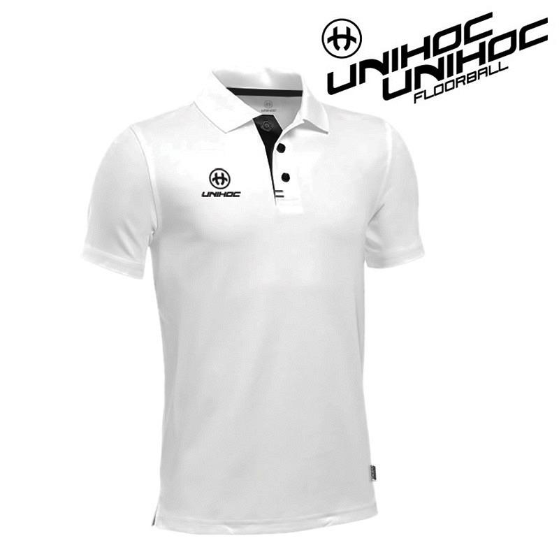unihoc Polo Shirt Technic white