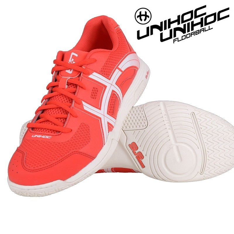 unihoc U3 Elite Men red/white