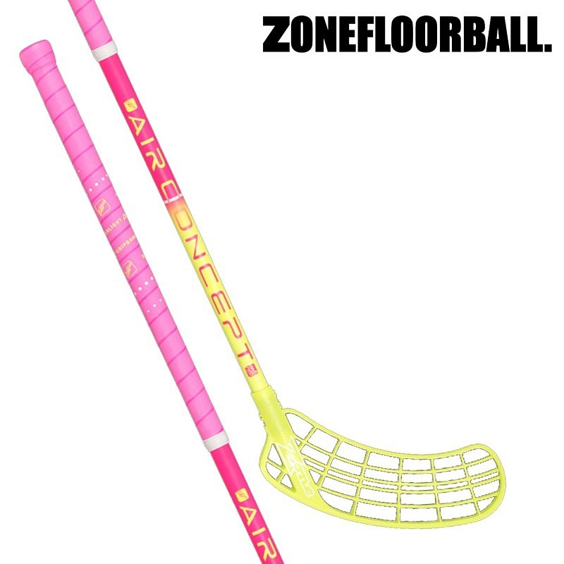 Zone Supreme Air Curve Junior pink/yel..