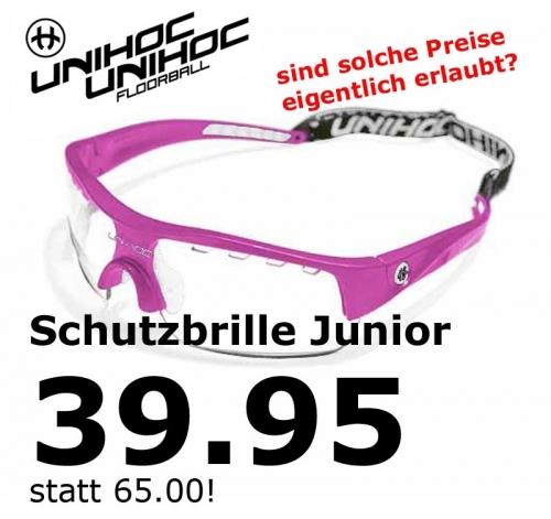unihoc Sportbrille Victory junior cerise