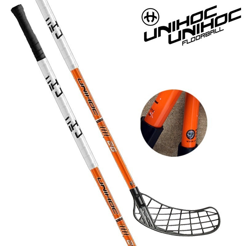 unihoc Player 26 Basic orange/schwarz