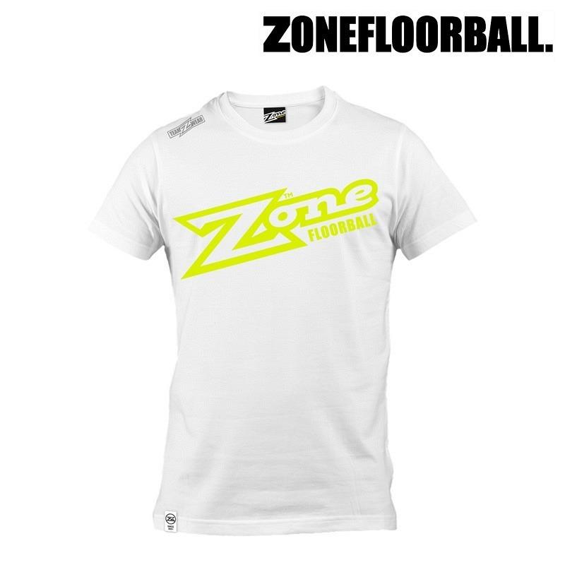 Zone T-Shirt Teamwear weiss/gelb