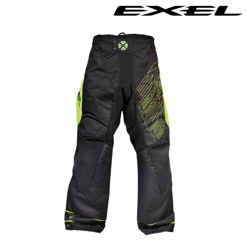 Exel G1 Goaliepants black-yellow