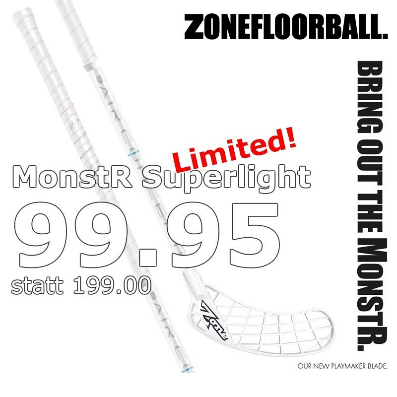 Zone MONSTR Air Superlight F27 White E..