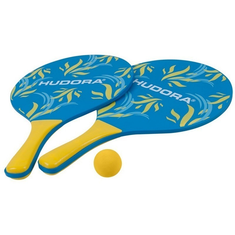 Beachballset (2 Racket mit 1 Ball)