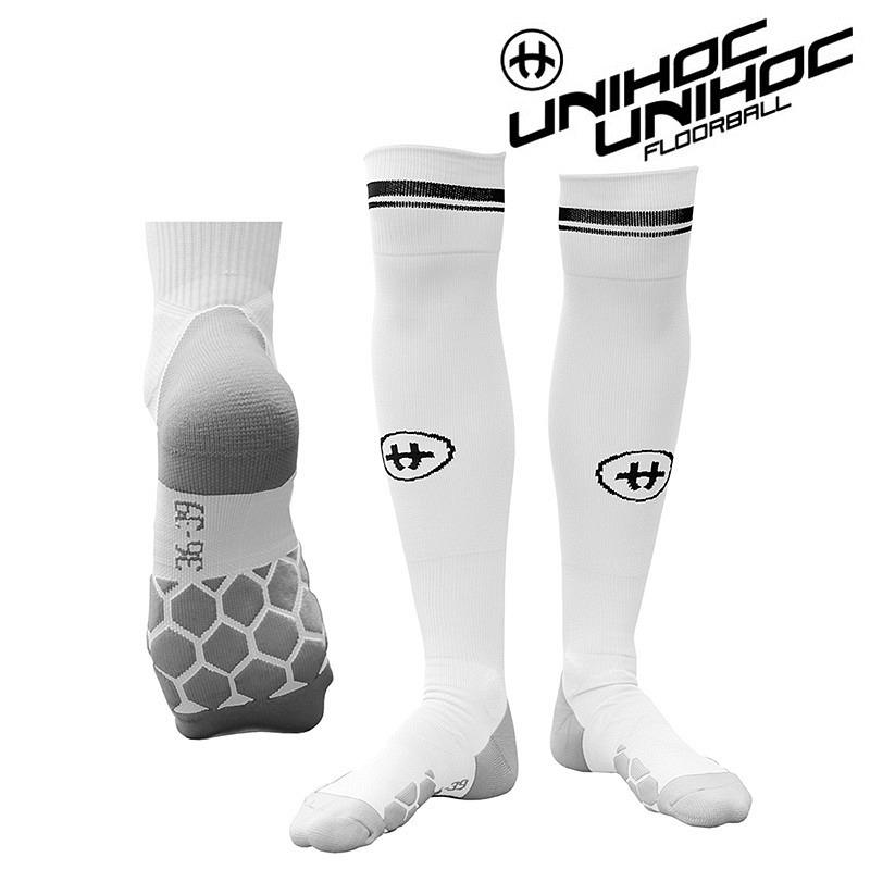 unihoc Socken XLNT weiss