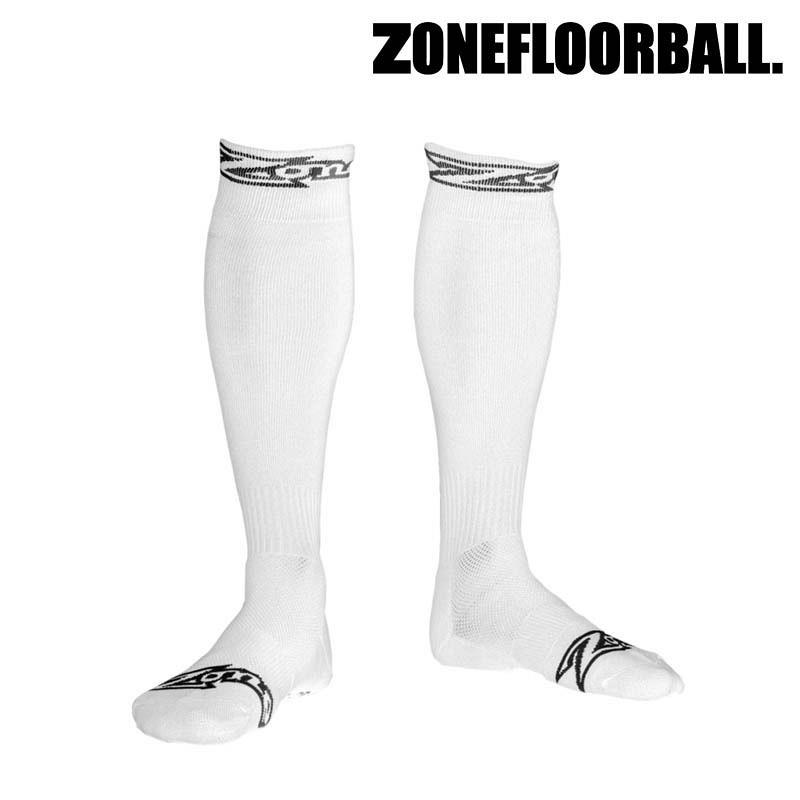 Zone Socken Stripe weiss