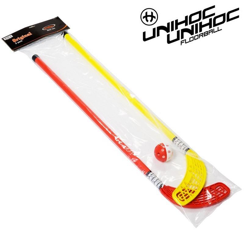 unihoc Set Original 80cm gelb/rot (2-P..