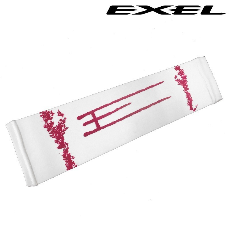 Exel Armsleeve rosé/white