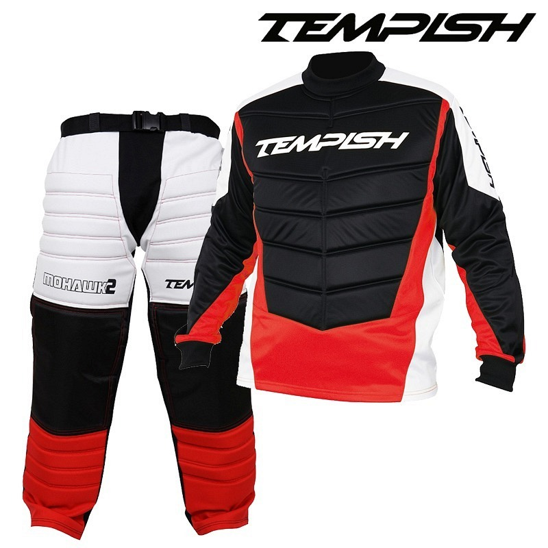 Tempish Goalieset Mohawk Junior black/red/white