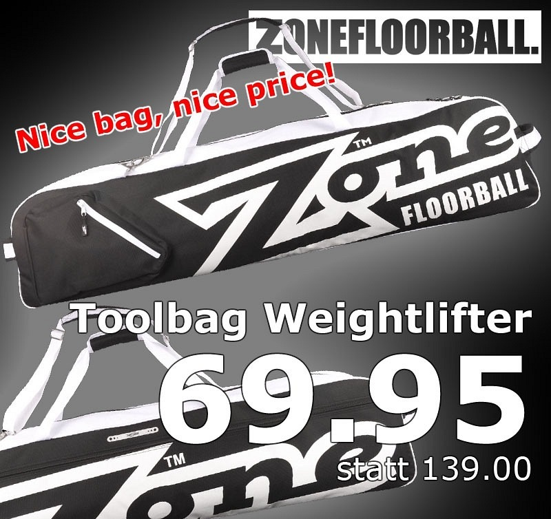 Zone Toolbag Weightlifter black/white