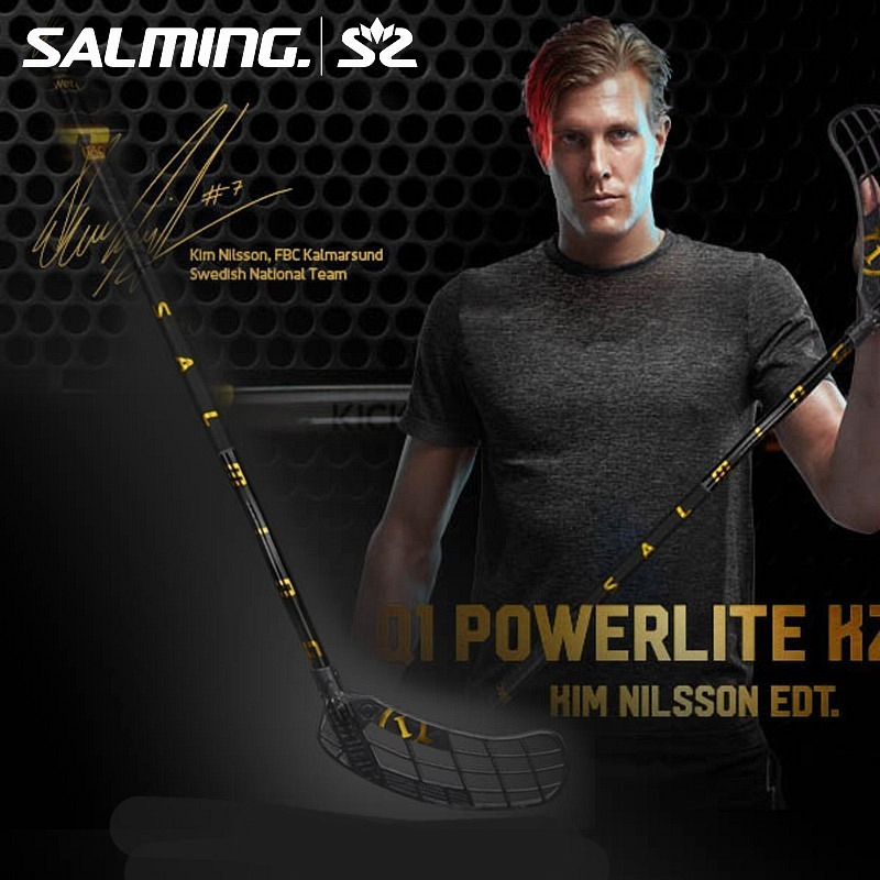 Salming Q1 KZ Powerlite Kim Nilsson black/gold