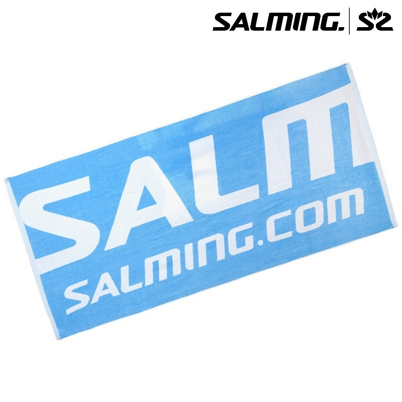 Salming Badetuch cyan/weiss