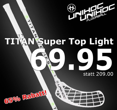unihoc Sonic TITAN Super Top Light 29