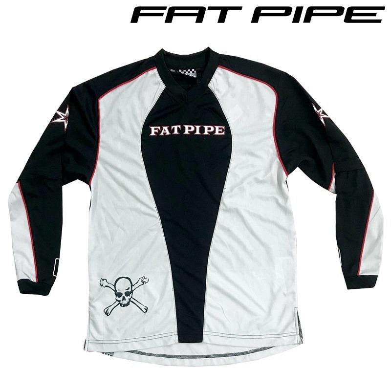 Fatpipe Goalieshirt schwarz/weiss