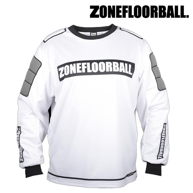 Zone Goaliepullover Monster weiss/schwarz