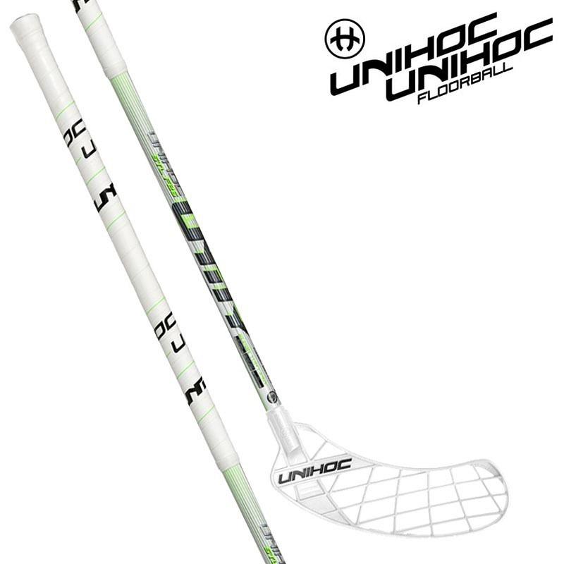 unihoc Unity Super Toplight 26 white/neon green