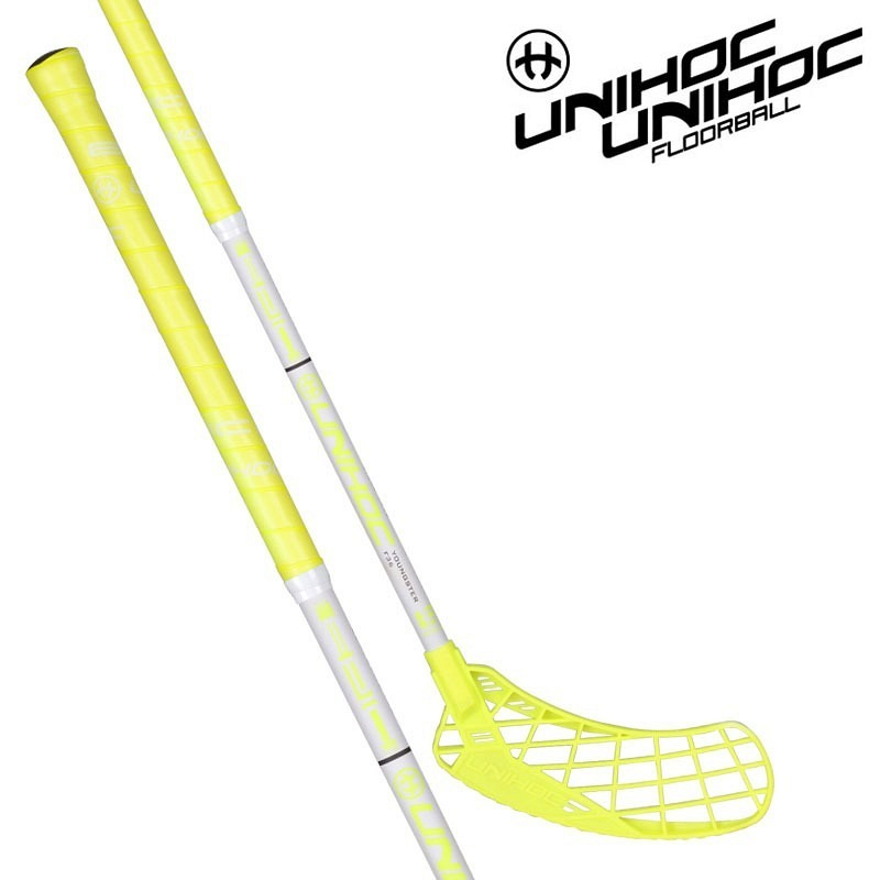 unihoc Epic Youngster neon yellow/white