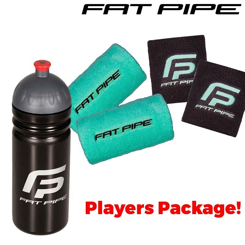 Fatpipe Players Package (Trinkflasche mit Wristband Ley & Code mint)