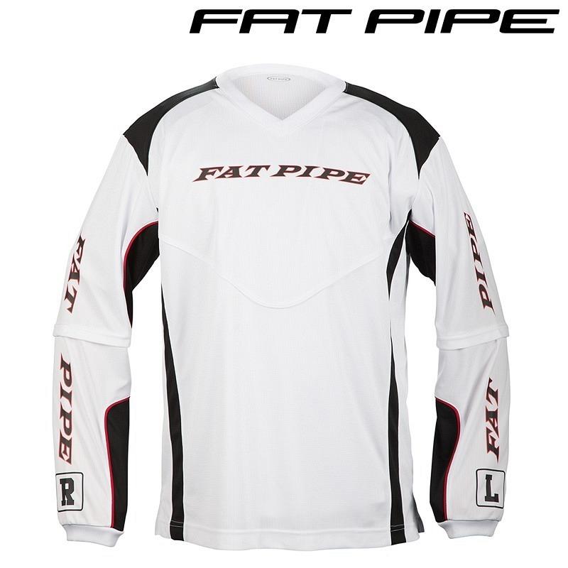 Fatpipe Goalieshirt weiss