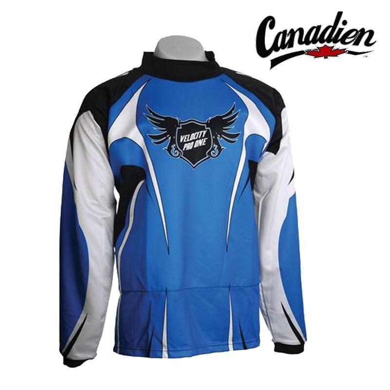 Canadien Goaliepullover Pro One blue Junior